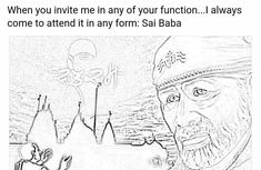 Invite him and you will experience his presence. Prayer Quotes, Faith Quotes, Life Quotes, Indian Spirituality, Sai Baba Quotes, Sai Baba Wallpapers, Om Sai Ram, Krishna Images, Hinduism