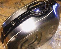 Bmw R/5 R/6 series, leather tank belt Cafe Racer e Scrambler.