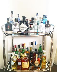 world gin day gin and tonic bar cart west elm