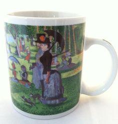 Modern Masterpiece 'A Sunday Island La Grande Jatte' George Seurat Coffee Mug