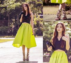 THE MODERN MIDI - a collection by Gloria T. | LOOKBOOK