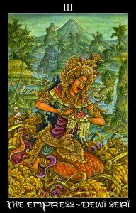 The Empress Tarot Card is the Earth Mother