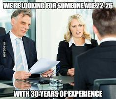 As someone who works in a recruitment office, this is exactly what we're looking for.