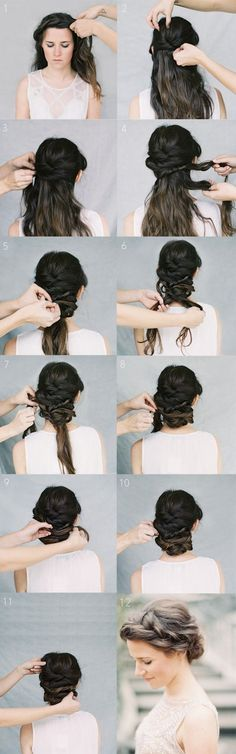 12 Hottest Wedding Hairstyles Tutorials for Brides and Bridesmaids | PoPular Haircuts