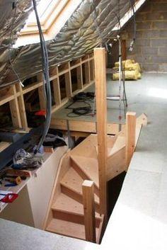 Attic Playroom, Attic Loft, Loft Room, Bedroom Loft, Loft Closet, Attic Library, Attic Ladder, Stairs Into Attic, Garage Attic