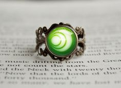 Zelda Ring of Virtue Farore's Courage #rings