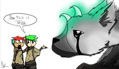 Jack introducing Mark To Trico by AVeryMerryPony.deviantart.com on @DeviantArt
