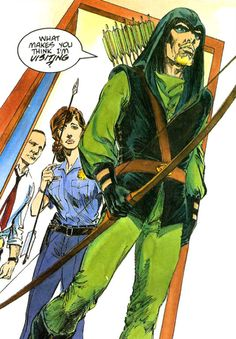 Green Arrow - Mike Grell