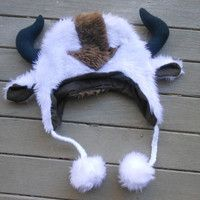 Appa Hat from Avatar The Last Airbender by ManyAHats on Etsy. Guys I found my next hat!