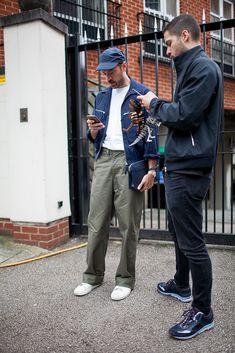 Colecciones Fuera de casa Durante la Londres: hombres de la primavera de 2017.