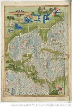 Guillaume Testu: Cosmographie Universelle 1555