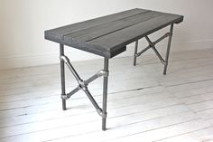 Reclaimed Scaffolding Board Painted Black with by inspiritdeco, £795.00
