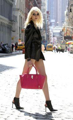 taylor Momsen Street Style | Taylor Momsen : la gothique de Gossip Girl…