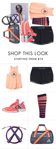 """""""Competitive jump rope 2016!"""" by flashinglights-397 on Polyvore featuring adidas and 2XU"""