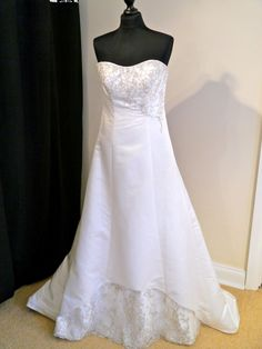 Wedding Dress Bridal Gown Trudy Lee Size 14 Ivory