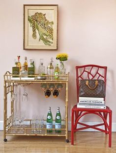 Bar cart. Every home needs one.
