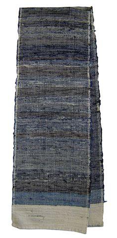 An Indigo Sakiori Panel