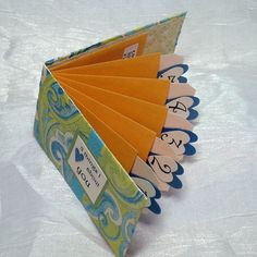 Envelope Book with Pull Tags!