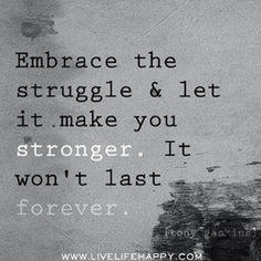 Embrace....