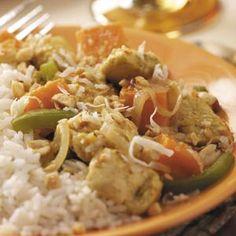 Chicken Tenderloin w. Sweet Potatoes (Taste of Home)  mmmm looks yum-o