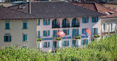 Albergo-Caffè Carcani in Ascona - Member of Tschuggen Hotel Group 29 Rooms, Hotels, Restaurant, Italy, Cabin, Group, House Styles, Home Decor, Mediterranean Kitchen