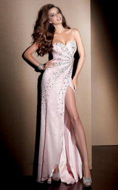 Sexy Prinzessin Chiffon ärmellose bodenlangen Kleider 432,65 €   233,99 €