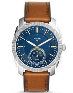1186ee3260c6 Fossil Q Hybrid Smartwatch Watches Mod. Machine Gents Watch Serial 349599