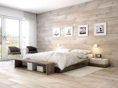 Most Popular Bedroom Wall Design Modern Ideas Tile Bedroom, Bedroom Wall Designs, Master Bedroom Design, Home Decor Bedroom, Modern Bedroom, Modern Wall, Home Interior, Interior Design, Living Room Tv