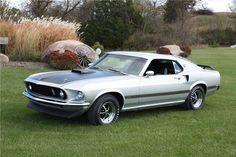 1969 FORD MUSTANG MACH 1 428 CJ FASTBACK - Barrett-Jackson Auction ...