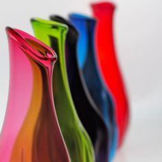 Raisin Bottles handmade by Cal Breed from Orbix Hot Glass- Fusion Art Glass Online Store