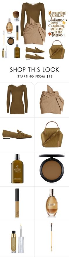 """Autumn in the Breeze "" by jbeb ❤ liked on Polyvore featuring Faith Connexion, Étoile Isabel Marant, Massimo Dutti, Onesixone, Molton Brown, MAC Cosmetics, NARS Cosmetics, La Mer, Urban Decay and Bare Escentuals"