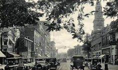 Putnam Street in the 1920s.