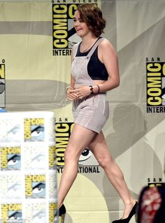 We're not in Winterfell anymore: Game Of Thrones star Maisie Williams, 17, arrived to the ...