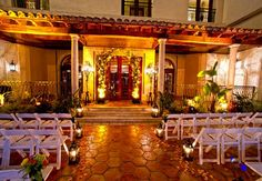 Show us your fantasy wedding location for a chance to win! We love the Delray Beach Marriott Resort in Delray Beach, Florida