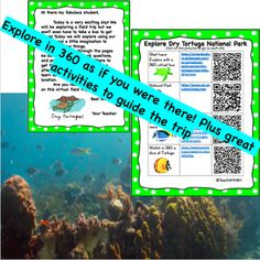 Google Drive Version- Dry Tortugas National Park Virtual Field Trip Science Writing, Writing Activities, Learning Resources, Fun Activities, Florida National Parks, Dry Tortugas, Virtual Field Trips, Critical Thinking, Virtual Tour