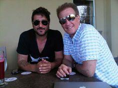 con Antonio Orozco en Premios Oye 2012