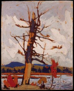 Tom Thomson Art - West Wind - The art vision of Tom Thompson Emily Carr, Group Of Seven Artists, Group Of Seven Paintings, Canadian Painters, Canadian Artists, Abstract Landscape, Landscape Paintings, Abstract Trees, Tree Paintings