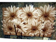 Brighten any area of the home with this delightful sunflowers rug by Mohawk. It measures 48 in. long and 30 in. wide. $49.95