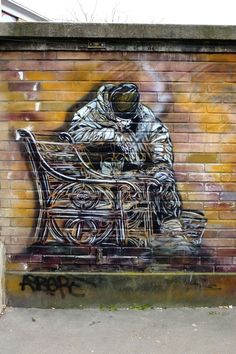 Vitry-sur-Seine - av. Paul Vaillant Couturier - street art - c215