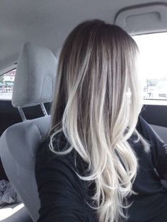 Image result for grey and platinum balayage