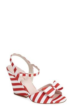 kate spade new york 'imari' satin ankle strap sandal (Women) | Nordstrom