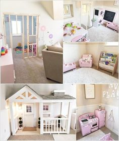 Built in Indoor Playhouse | Fun Kids Room Ideas | Pinterest ...