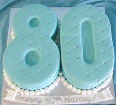 80th birthday party ideas | 80th Birthday Cake