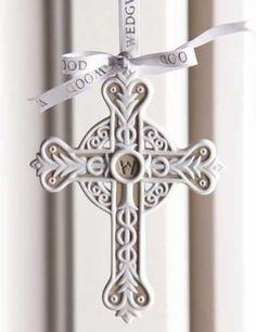 Wedgwood 2013 Figural Cross Ornament