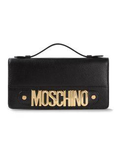 Moschino Logo Shoulder Bag - Stefania Mode - Farfetch.com