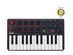 Akai MPK Mini Mk2 Compact Keyboard and Pad Controller with 1 Year Free Extended Warranty Akai http://www.amazon.com/dp/B016BDF93M/ref=cm_sw_r_pi_dp_59Jtwb1J8ZZ7Y