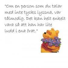 nalle puh citat - Sök på Google Silly Quotes, Great Quotes, Swedish Quotes, Quotations, Qoutes, Scrapbook Titles, Gum Drops, Today Quotes, Feeling Down