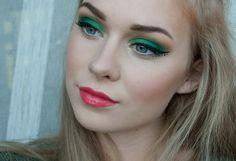 Watermelon inspired makeup