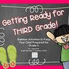 This is a summer activity pack to help your second grader get ready for third grade! It includes everything your second grader needs to review and ...