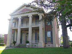 Magnolia Hall (1858) - Natchez MS